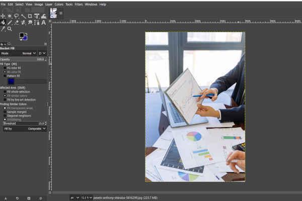 gimp tutorials layout