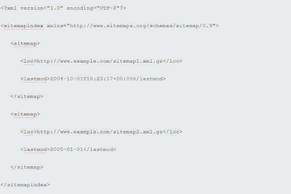 multiple XML Sitemaps